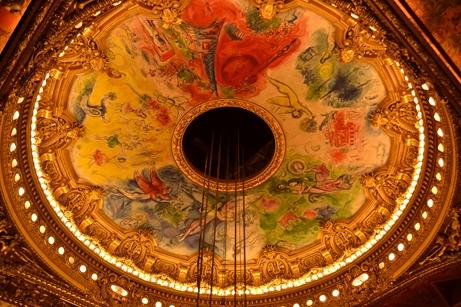 シャガールの天井画