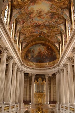 ヴェルサイユ宮殿,王室礼拝堂