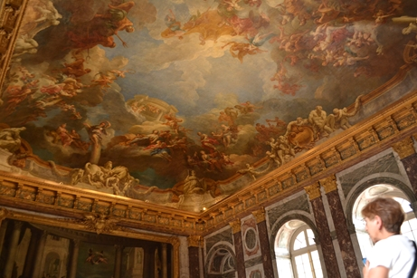 ヴェルサイユ宮殿,ヘラクレスの間