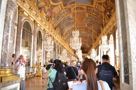 ヴェルサイユ宮殿,鏡の回廊