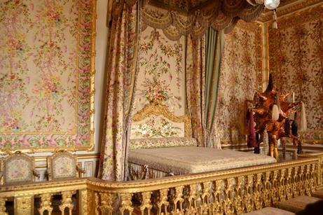 ヴェルサイユ宮殿,王妃の寝室