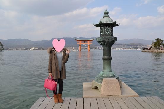 厳島神社の写真スポット