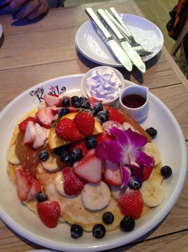 カフェ・カイラ(Cafe Kaila)のパンケーキ