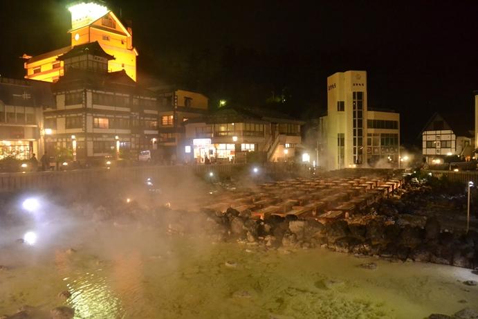 草津温泉夜景